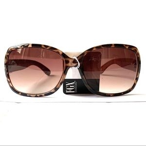 Foster Grant Tortoise Shell Rectangle Sunglasses